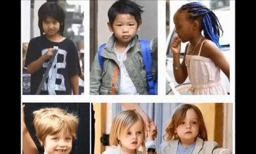 Sáu con của Brad Pitt và Angelina Jolie