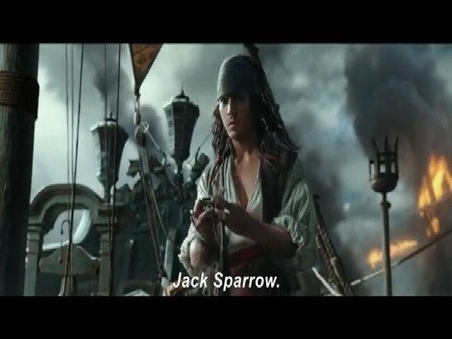 Johnny Depp tre mang trong Cuop bien Caribbean 5