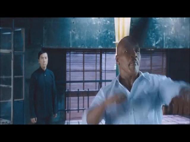 """Trận đấu giữa Chân Tử Đan và Mike Tyson trong """"Diệp Vấn 3"""""""
