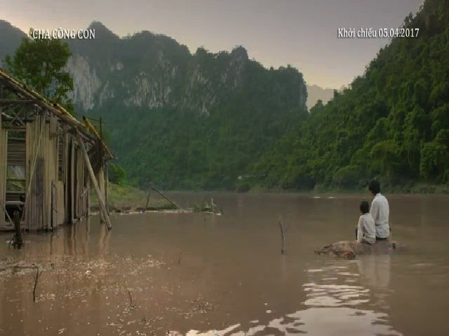 Teaser phim 'Cha cõng con'