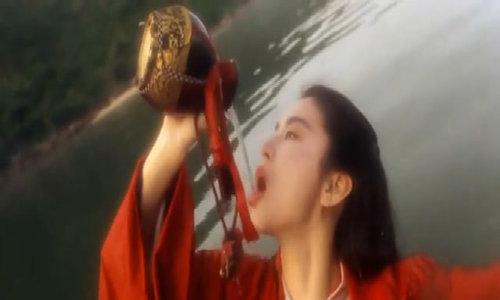 Tạo hình cổ trang của Lâm Thanh Hà