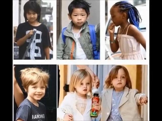Các con của Angelina Jolie và Brad Pitt