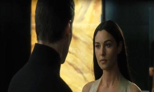 Monica Bellucci kissing scene -The Matrix Reloaded VnExpress