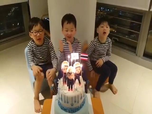 Ba con trai nổi tiếng của Song Il Gook