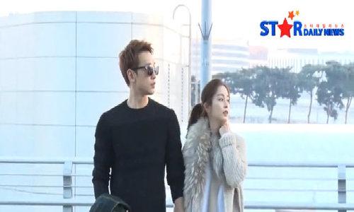 Kim Tae Hee - Rain đi hưởng tuần trăng mật
