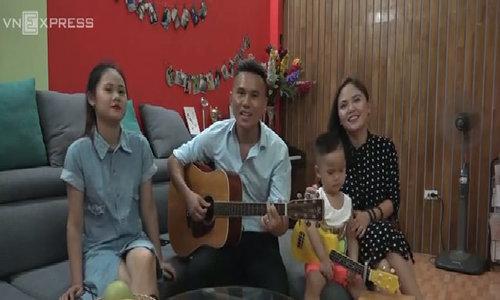 Tổ ấm của gia đình Tú Dưa ở nhà thuê 10 triệu đồng một tháng