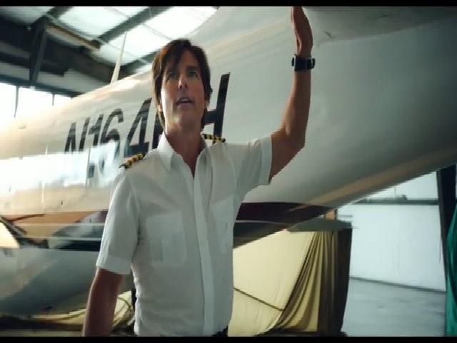 Tom Cruise đóng vai buôn lậu ma túy trong American Made