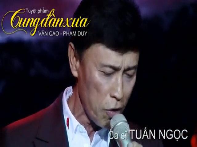 DVD 'Cung đàn xưa' giữ bản thu live ở sân khấu