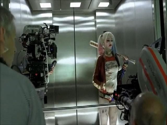 Hậu trường Margot Robbie đóng Biệt đội cảm tử