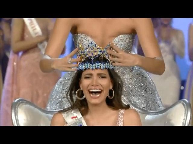Khoảnh khắc đăng quang Miss World 2016