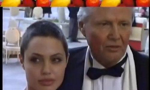 Jon Voight cùng con gái dự sự kiện