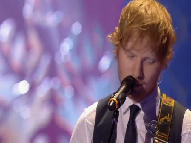 Ed Sheeran biểu diễn tại show Victoria's Secret
