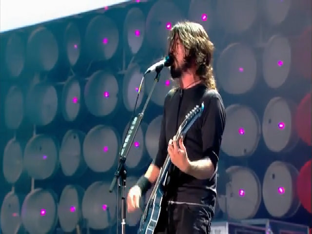 Foo Fighterse hát 'Best Of You'