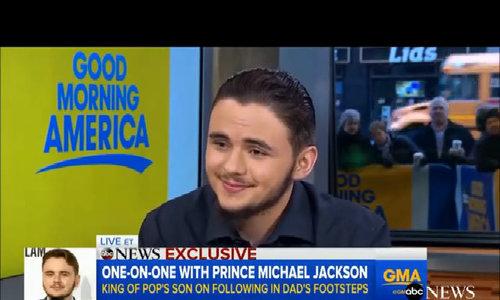 Prince Jackson trong cuộc phỏng vấn của GMA
