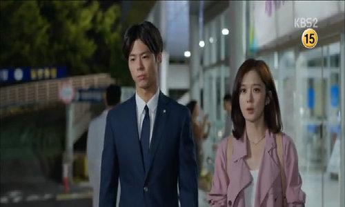 """Park Bo Gum và Jang Nara trong phim """"I remember you"""""""