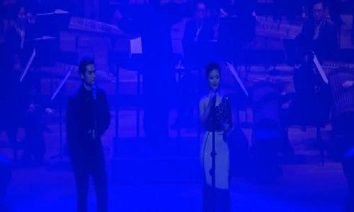 Dương Hoàng Yến và Hà Anh hát 'Chiếc khăn piêu'