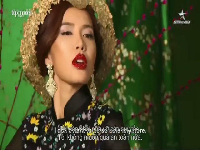 """Minh Tú mở màn đêm thi Chung kết """"Asia's Next Top Model"""""""