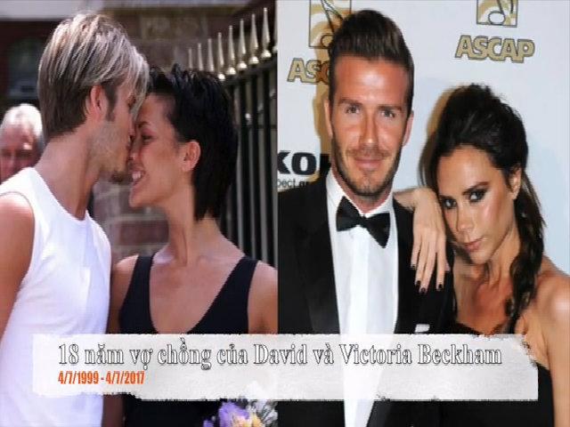 18 năm ngày cưới Victoria Beckham