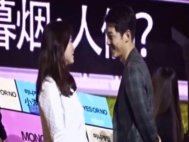 Khoảnh khắc ngọt ngào của * Soong Joong Ki - Song Hye Kyo