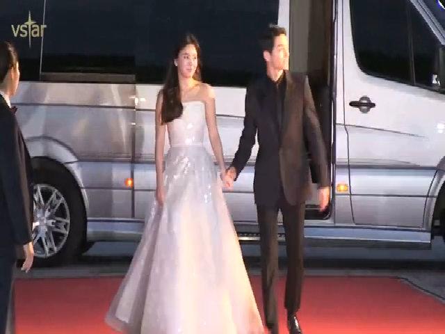 Song Hye Kyo, Song Joong Ki trên thảm đỏ