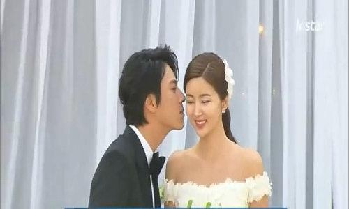 Hôn lễ hạnh phúc của Han Jae Suk và Park Sol Mi