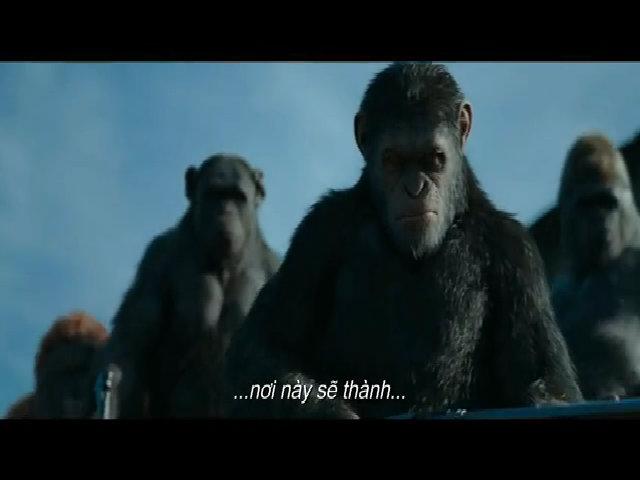 Loài khỉ lên thống trị thế giới trong War for the Planet of the Apes