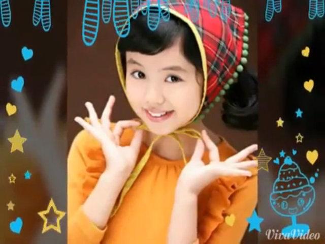 Vẻ đáng yêu khi nhỏ của Kim So Hyun