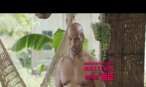 Mike Tyson khoe cơ bắp trong phim Trần Bảo Sơn sản xuất