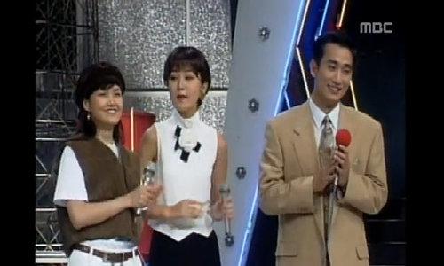 In Pyo,  Ae Ra và Lee Seung Yeon trong chương trình giải trí năm 1994