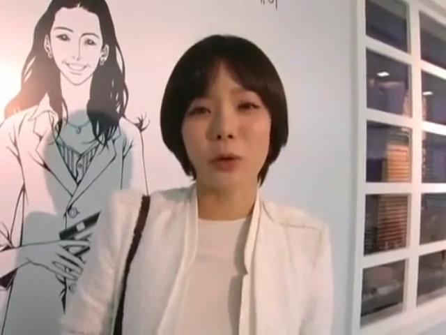 Khuôn mặt cứng đờ của Chae Rim trong một sự kiện
