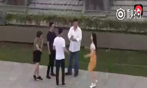 Phạm Băng Băng nhảy cẫng khi gặp bạn trai
