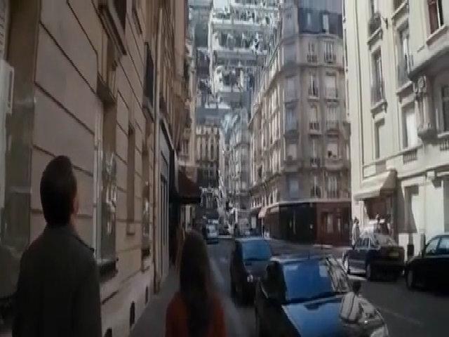 """Cảnh thành phố gấp lại trong """"Inception"""""""