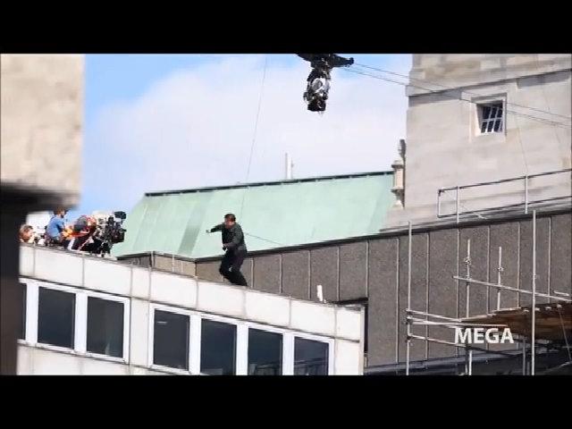 Tom Cruise bị thương trên phim trường 'Mission Impossible 6'