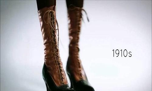 Giày cao gót biến đổi qua 100 năm