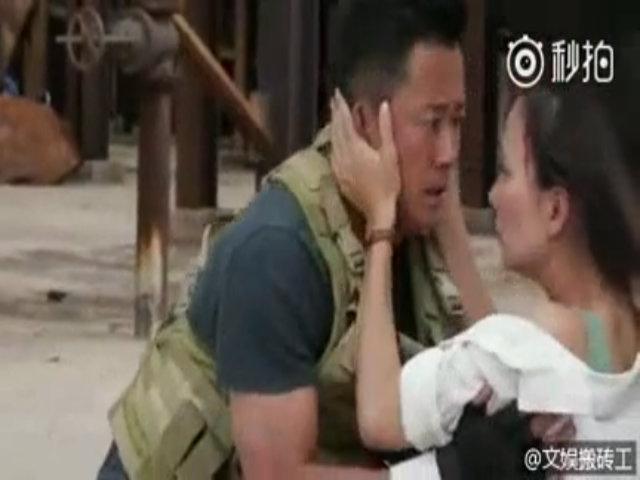 Ngô Kinh kể ý nghĩa nụ hôn với mỹ nhân trong 'Chiến lang 2'