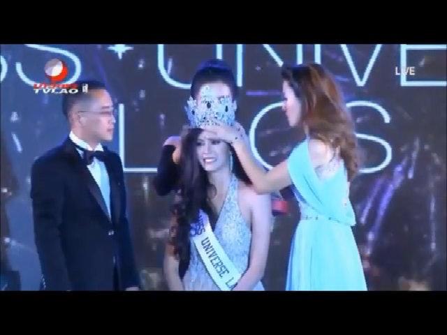 Nhan sắc Hoa hậu Hoàn Vũ đầu tiên của Lào