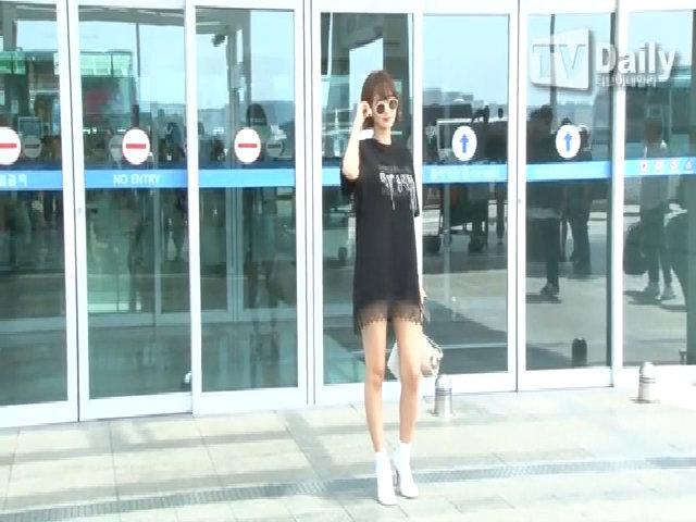 Go Joon Hee đến Đức chụp tạp chí