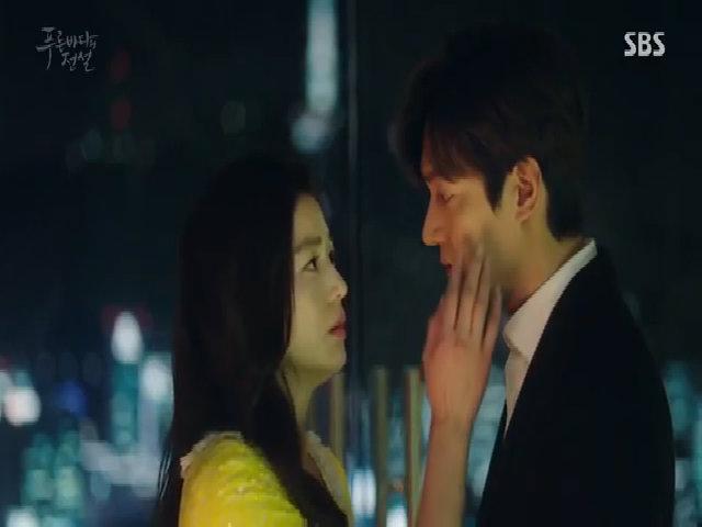 Jeon Ji Hyun và Lee Min Ho trong 'Huyền thoại biển xanh'