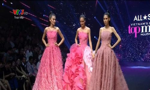 Kim Dung đăng quang Vietnam's Next Top Model 2017