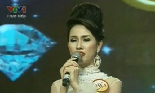 Phan Thị Mơ trả lời ứng xử ở Hoa hậu Việt Nam 2012