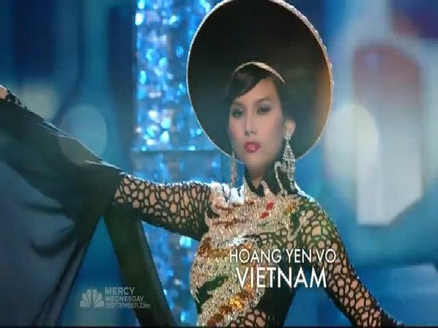 Hoàng Yến tại Miss Universe Vietnam 2009