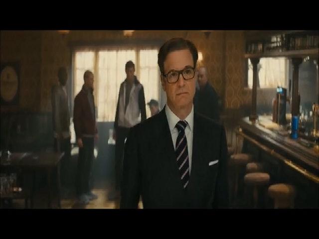 """Cảnh hành động của Firth trong """"Kingsman: The Secret Service"""""""