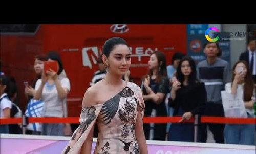 Davika Hoorne tại Asia Model Festival 2017