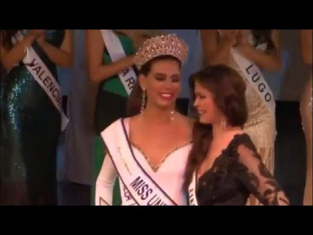 Người đẹp 1,82 m đăng quang Hoa hậu Hoàn vũ Tây Ban Nha 2017