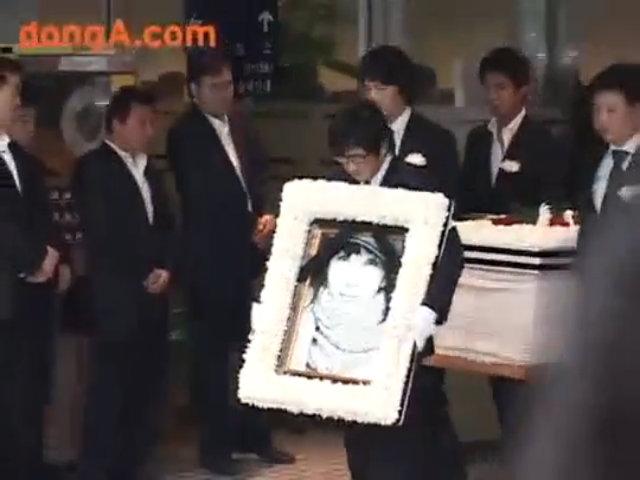 Tang lễ đẫm nước mắt của Choi Jin Sil