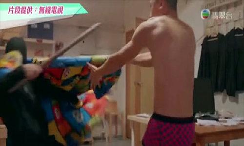 TVB bị chỉ trích dựng cảnh thô tục trong phim hình sự