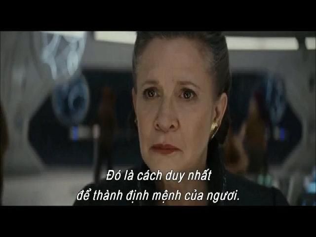 Minh tinh quá cố xuất hiện cảm động trong trailer 'Star Wars 8'
