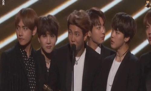BTS nhận giải thưởng của Billboard
