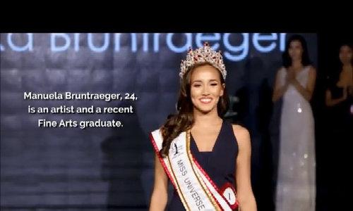 Cô gái lai Đức trở thành Hoa hậu Hoàn vũ Singapore 2017