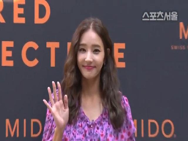 Vẻ trẻ trung của Han Chae Young trong sự kiện hồi tháng 9